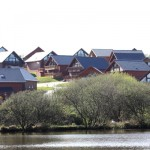 Retallack Lodges from the lake