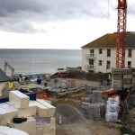 Homes foundations at St Michaels Reach Marazion