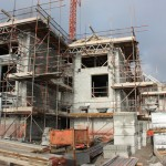 Homes substructure at St Michaels Reach Marazion